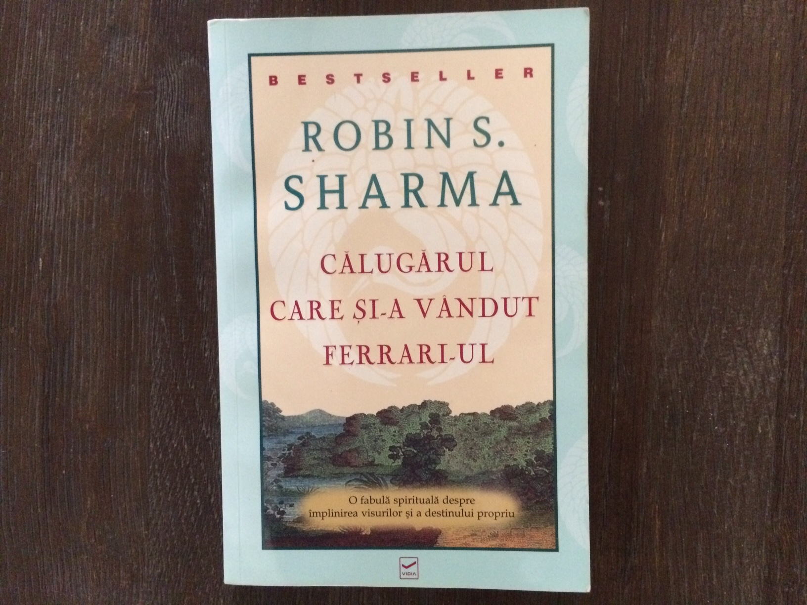 "I am reading.. ""The monk who sold his Ferrari"""