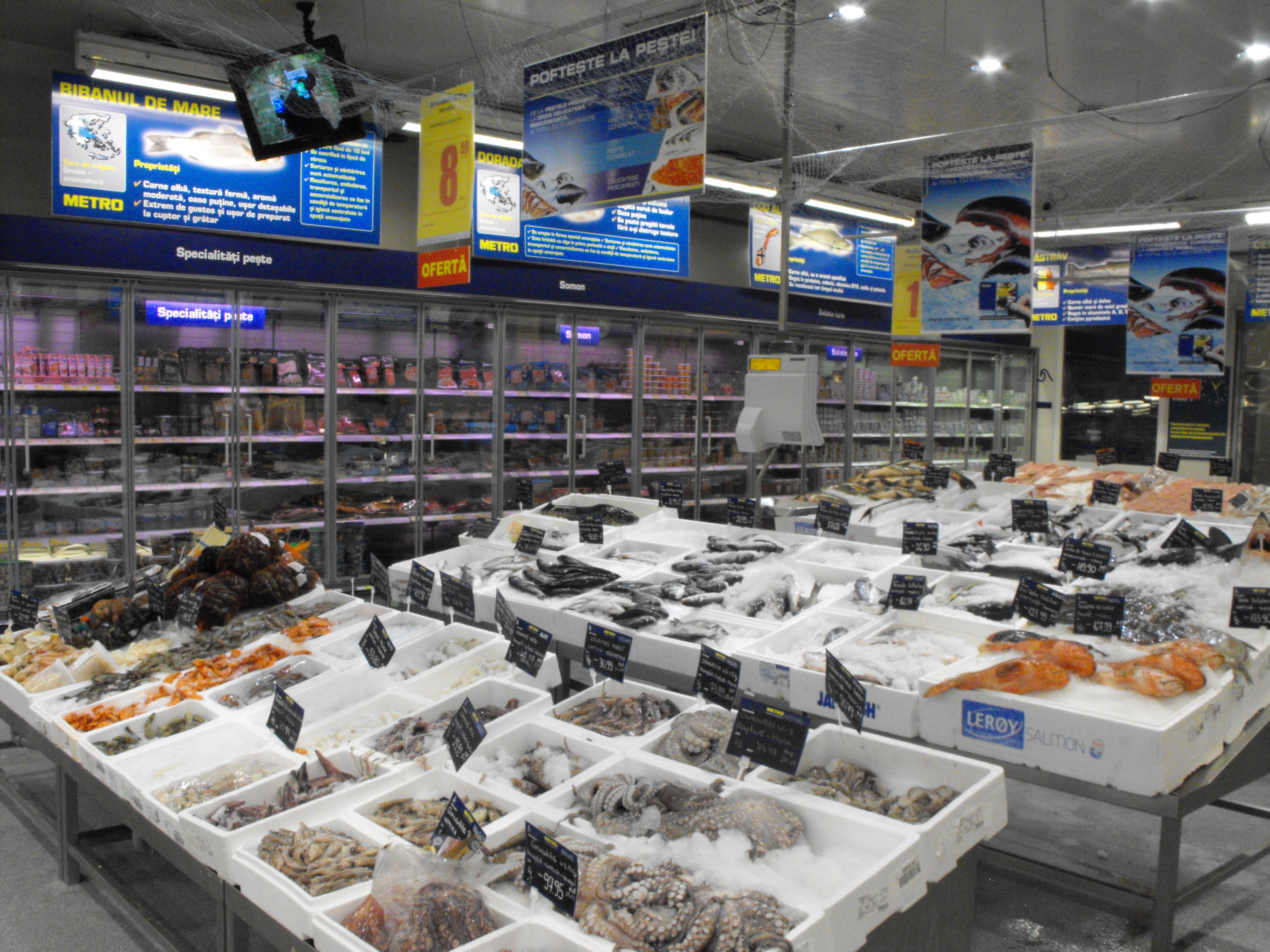 Seafood from METRO Cash & Carry