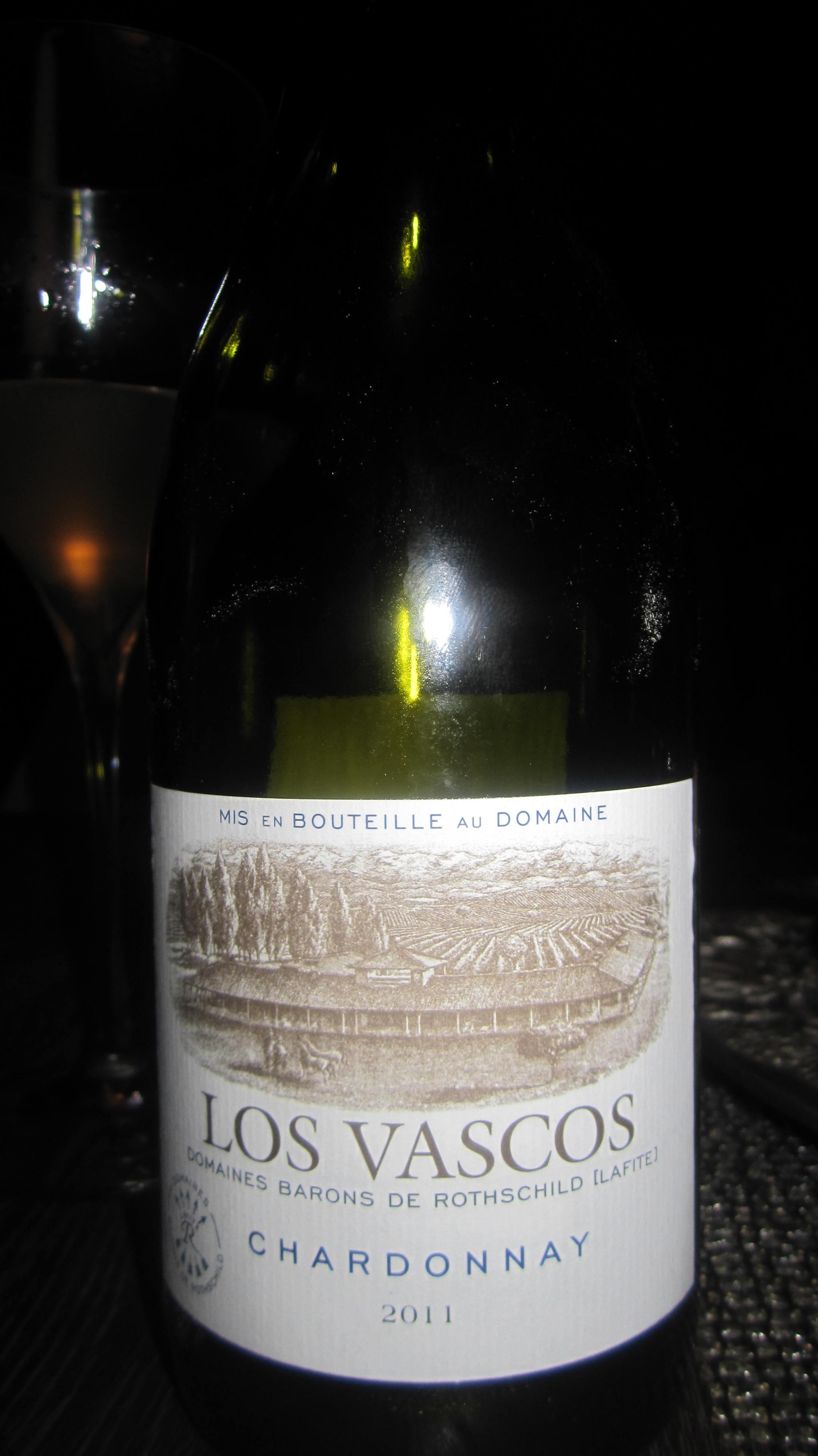 Los Vascos Chardonnay 2011, Domains Barons de Rothschild Lafite