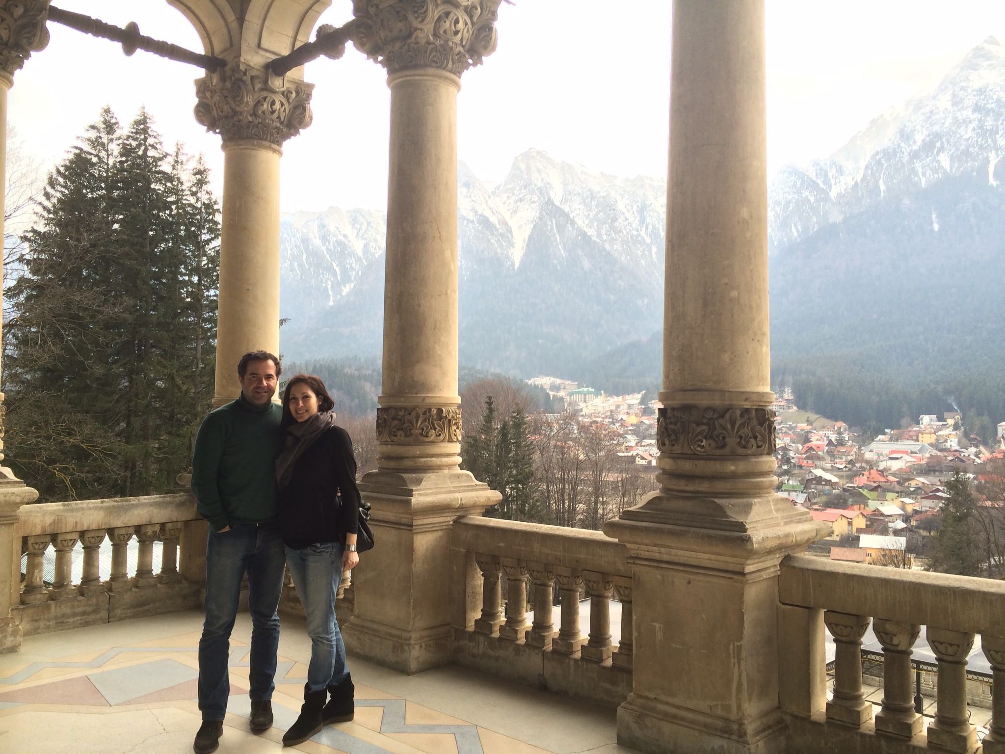 A sumptuous Sunday lunch at CANTACUZINO Castle