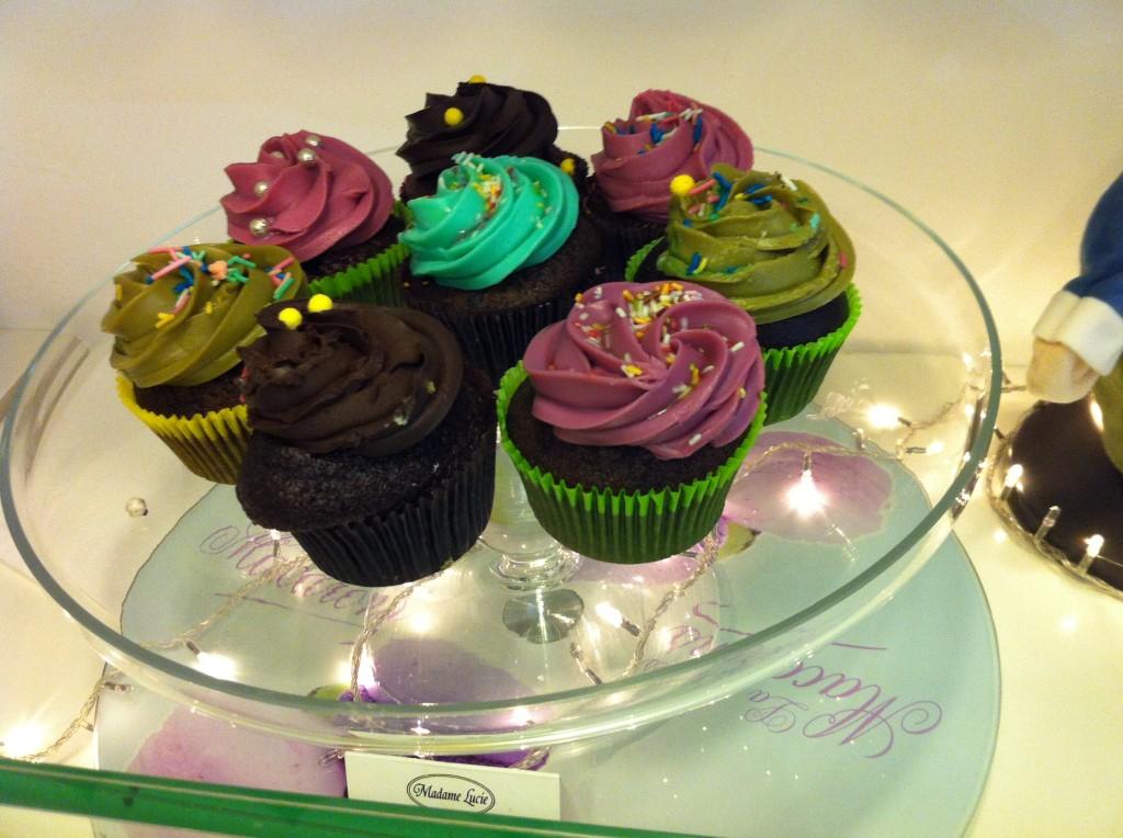Cupcakes Madame Lucie