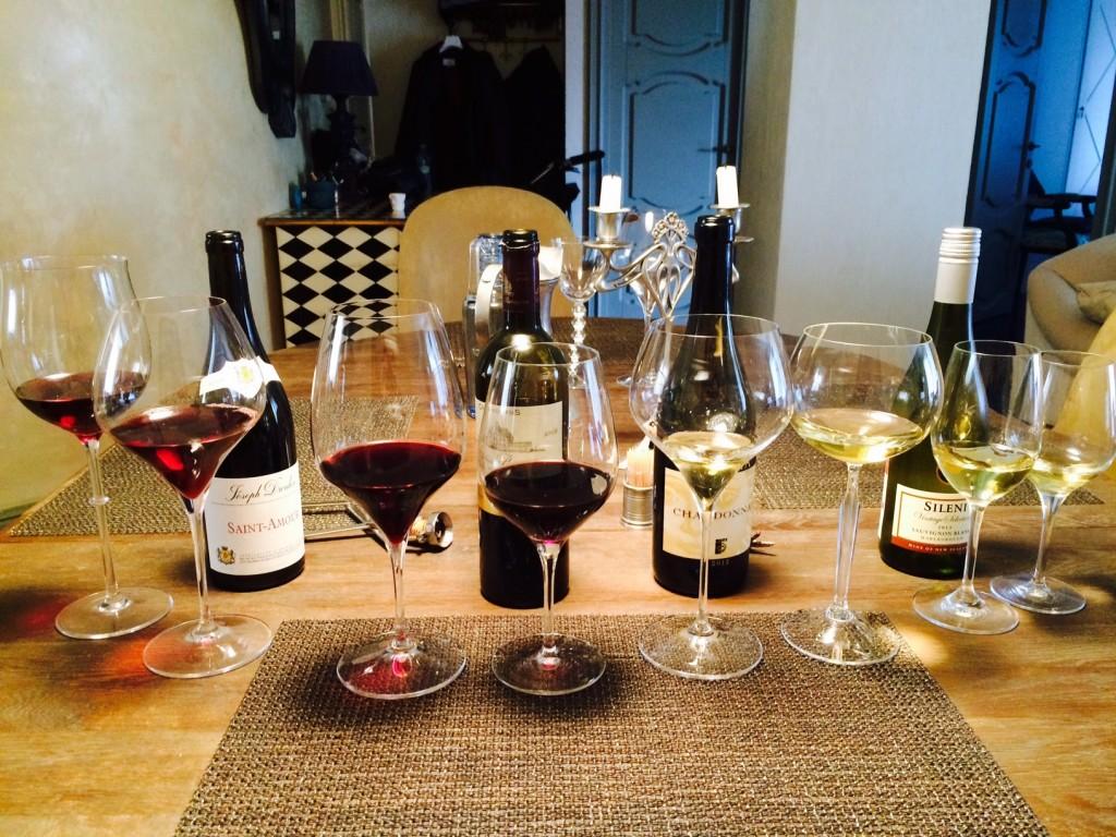 wine glasses 154