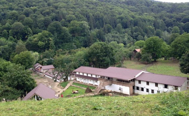 The farm from Penteleu Mountain