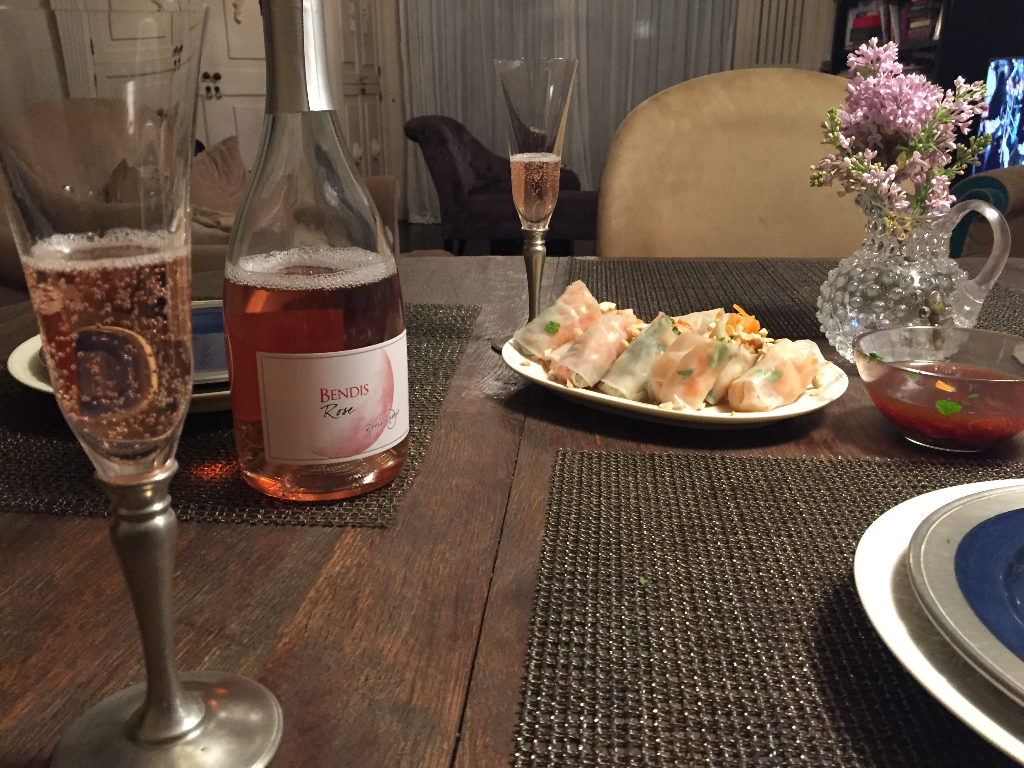 A romantic dinner – the appetizer