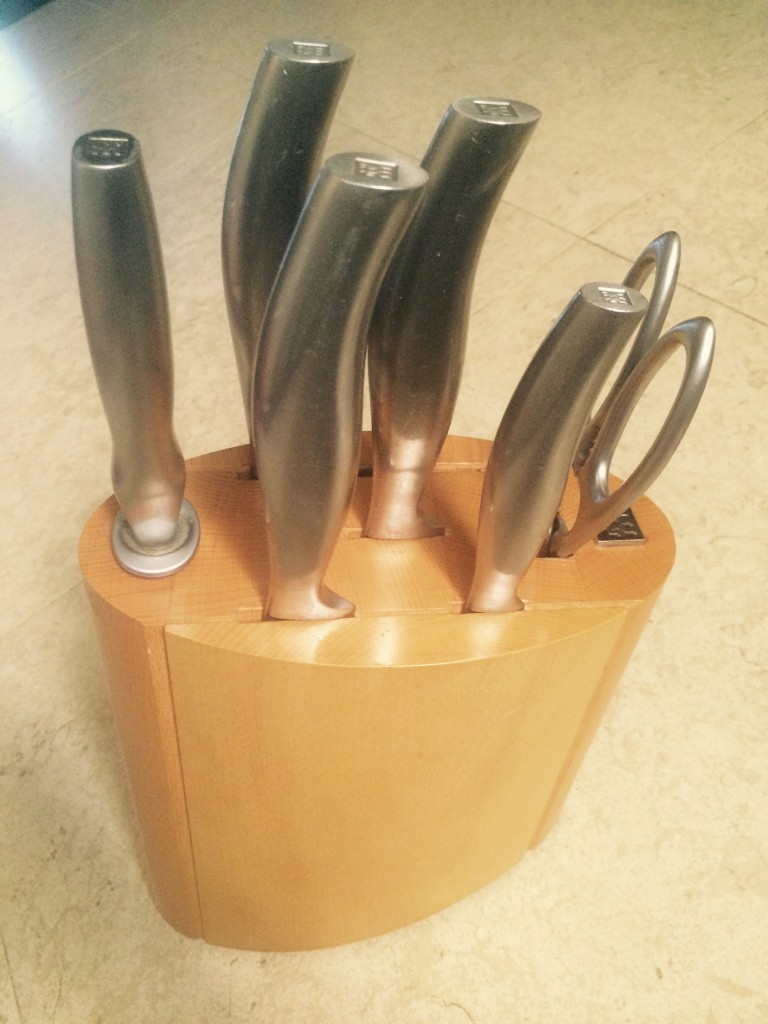 sous chef knife's set