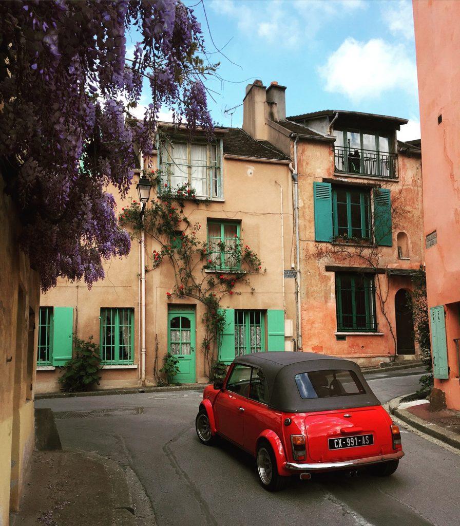 La Celle st Cloud street