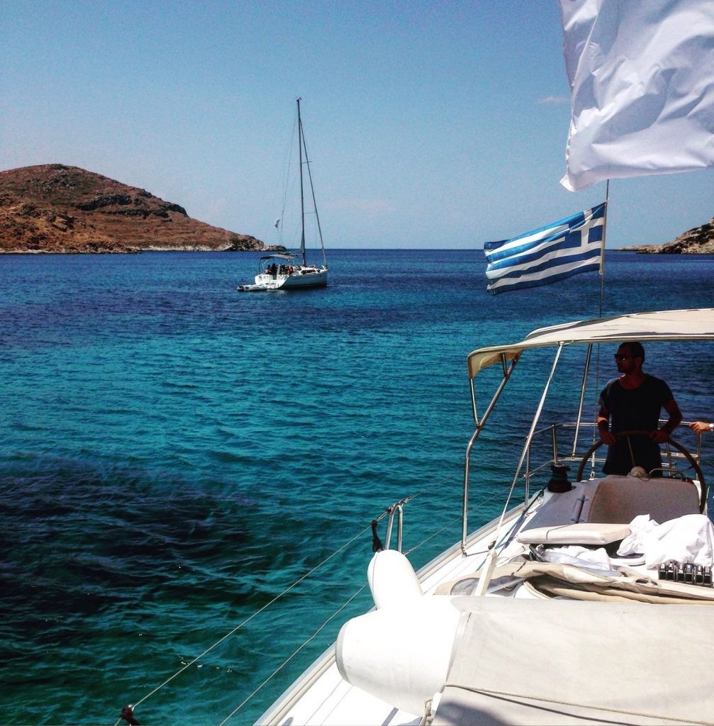 Sailing in Greece 2