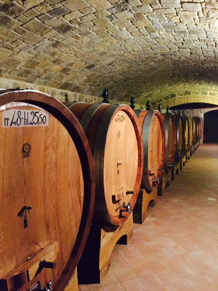 Capanna Winery tour