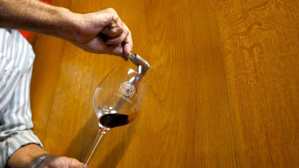 Capanna bicchiere-brunello-montalcino