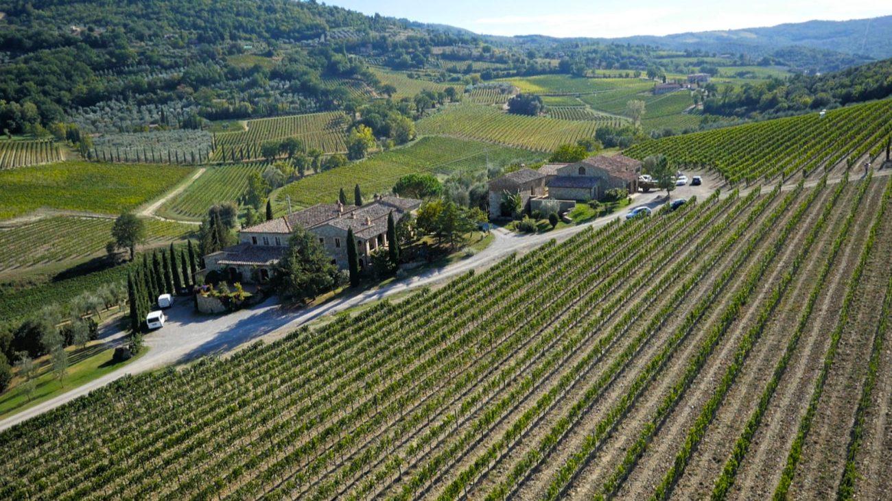 Capanna Winery tour in Tuscany, Montalcino