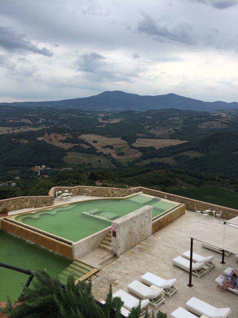 Castello di Velona view