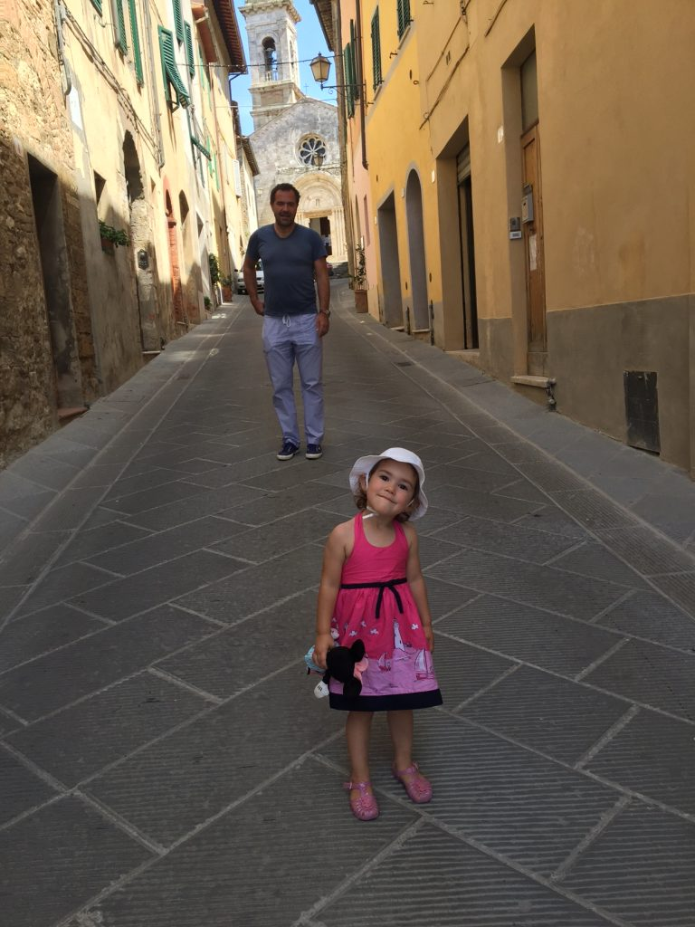 my darlings in San Quirico DOrcia
