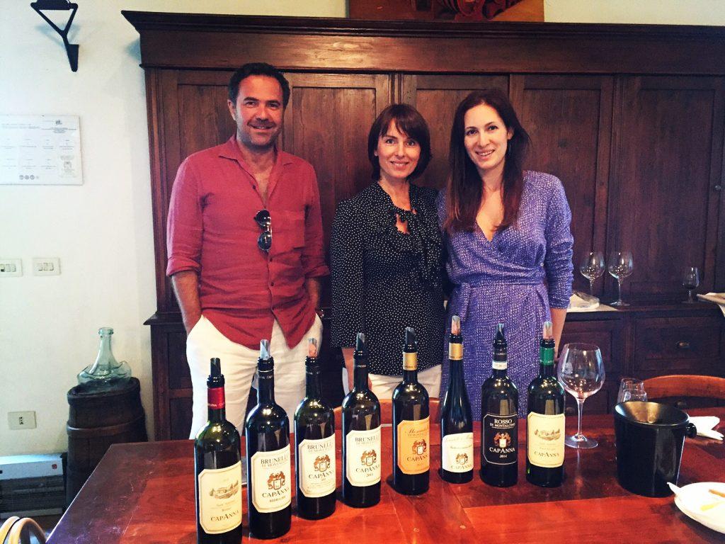 winetasting tour La Capanna