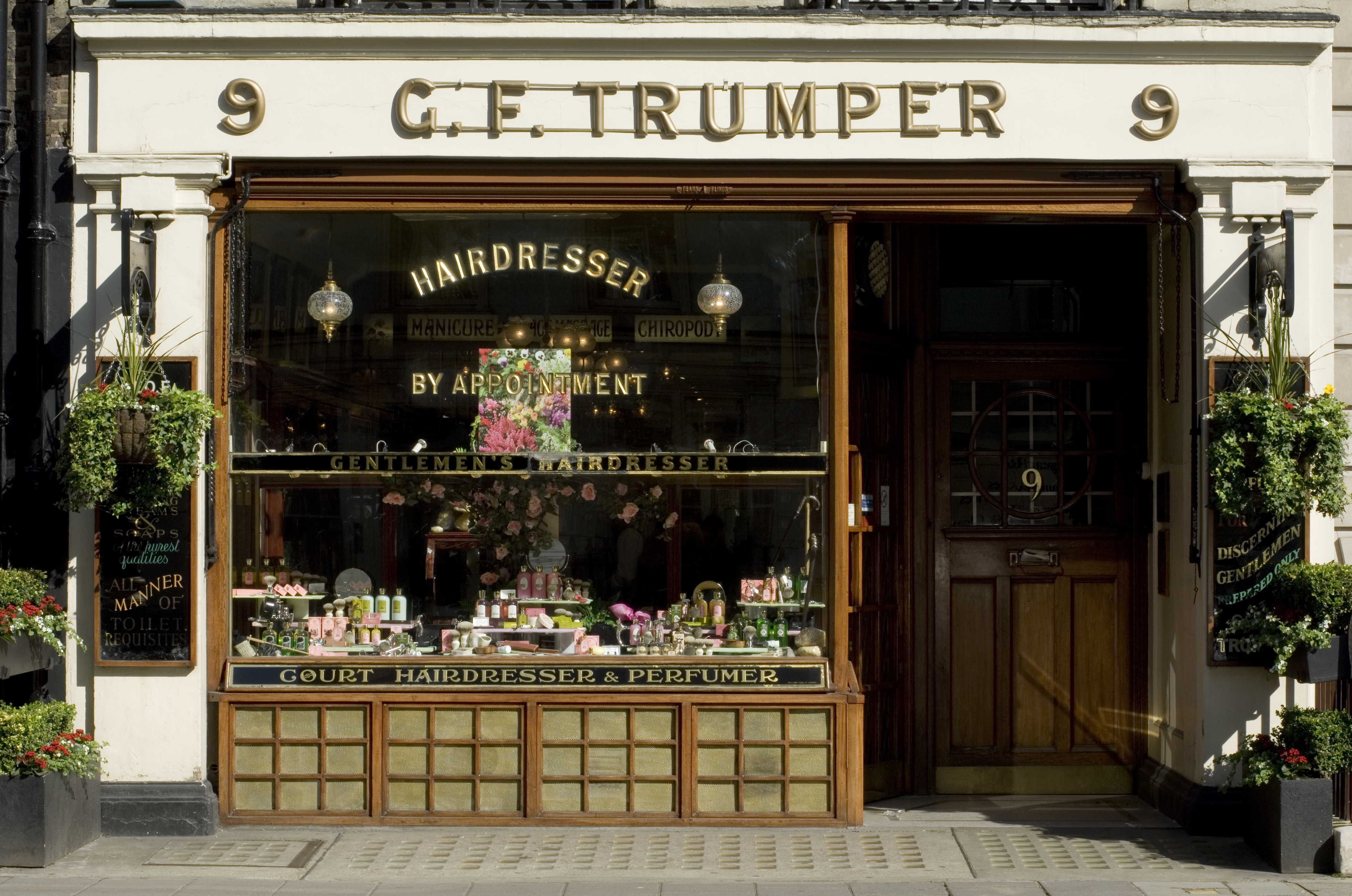 Geo F. Trumper, the traditional Mayfair barber