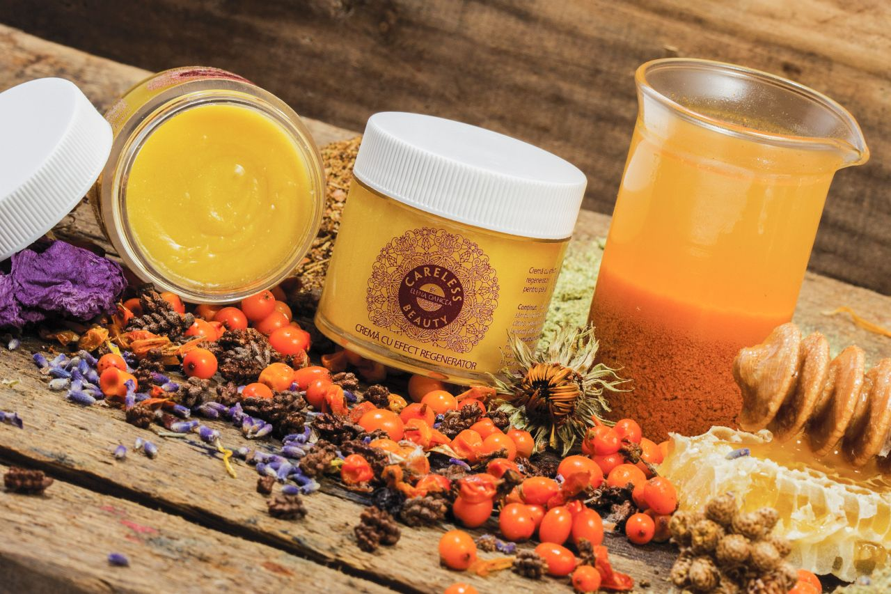 """""""Careless beauty"""" by Elena Oancea – Skincare with natural ingredients"""